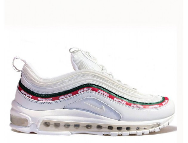 Кроссовки Undefeated x Nike Air Max 97 White