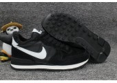 Кроссовки Nike Internationalist Black/White С МЕХОМ - Фото 7