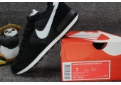Кроссовки Nike Internationalist Black/White С МЕХОМ - Фото 9
