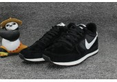 Кроссовки Nike Internationalist Black/White С МЕХОМ - Фото 3