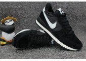 Кроссовки Nike Internationalist Black/White С МЕХОМ - Фото 8