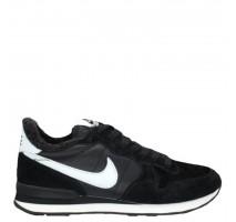 Кроссовки Nike Internationalist Black/White С МЕХОМ
