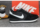 Кроссовки Nike Internationalist Black/White С МЕХОМ - Фото 6