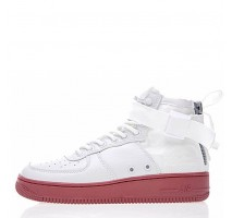 Кроссовки Nike SF Air Force 1 Utility Mid White/Gum
