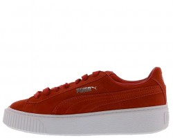 Кроссовки Puma Suede Platform Core Red
