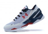 Кроссовки Under Armour Clutchfit Drive Low White/Blue - Фото 3
