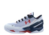 Кроссовки Under Armour Clutchfit Drive Low White/Blue - Фото 1