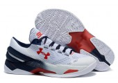 Кроссовки Under Armour Clutchfit Drive Low White/Blue - Фото 4