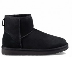UGG CLASSIC MINI II BOOT BLACK