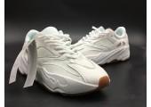 Кроссовки Adidas Yeezy 700 Boost White - Фото 2