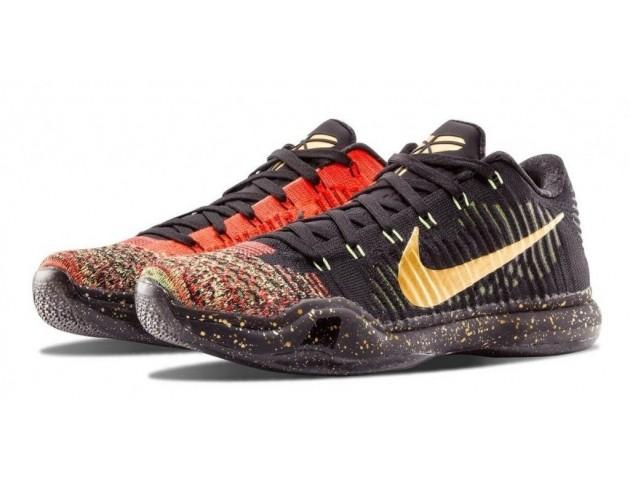 Баскетбольные кроссовки Nike Kobe X Elite Low Christmas