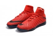 Футзалки Nike Hypervenom x Proximo II DF IC University Red/White/Bright Crimson - Фото 8