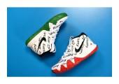 Баскетбольные кроссовки Nike Kyrie 4 BHM Equality - Фото 8