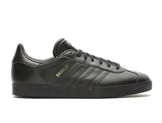 Кроссовки Adidas Gazelle Leather Black
