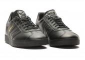 Кроссовки Adidas Gazelle Leather Black - Фото 5