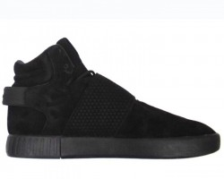 Кроссовки Adidas Tubular Invader Strap Triple Black