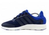 Кроссовки Adidas Pure Boost Navy/Light Blue - Фото 1
