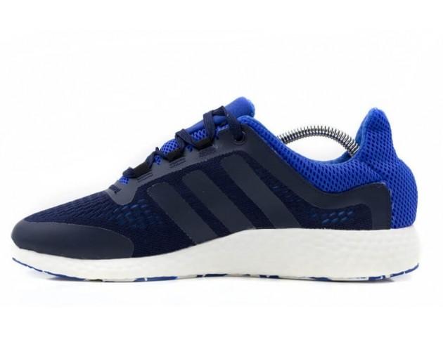 Кроссовки Adidas Pure Boost Navy/Light Blue