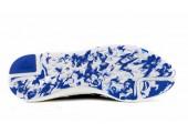 Кроссовки Adidas Pure Boost Navy/Light Blue - Фото 2