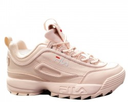 Кроссовки Fila Disruptor II Light Pink Leather