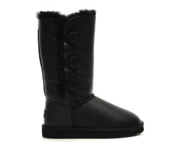 UGG BAILEY BUTTON TRIPLET BOOT BLACK
