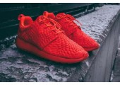 Кроссовки Nike Roshe Run DMB Red - Фото 4