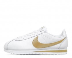 Кроссовки Nike Cortez Glitter Pack White/Gold