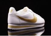 Кроссовки Nike Cortez Glitter Pack White/Gold - Фото 2