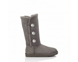 UGG BAILEY BUTTON TRIPLET II BOOT BLING GREY