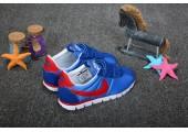 Детские кроссовки Nike Cortez Blue/Red - Фото 2