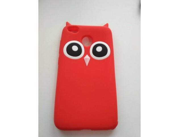 Чехол Owl Xiaomi Redmi 4X Red