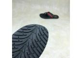 Шлепанцы Adidas Stan Smith City Black/Red - Фото 3