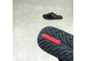 Шлепанцы Adidas Stan Smith City Black/Red - Фото 2