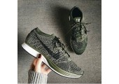 Кроссовки Nike Flyknit Racer Rough Green - Фото 2
