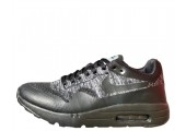 Кроссовки Nike Air Max 1 Ultra Flyknit Black/Grey - Фото 1
