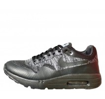 Кроссовки Nike Air Max 1 Ultra Flyknit Black/Grey