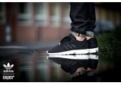 Кроссовки Adidas ZX Flux Black - Фото 6
