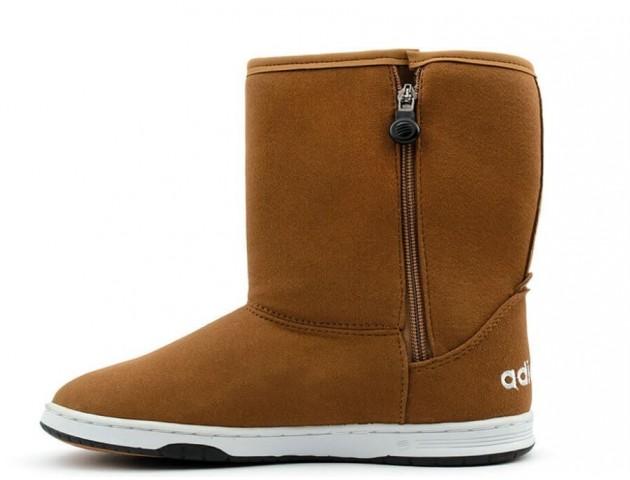 Кроссовки Adidas NEO Chestnut С МЕХОМ