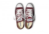 Кеды Converse All Star Chuck Taylor Low Bordo - Фото 2