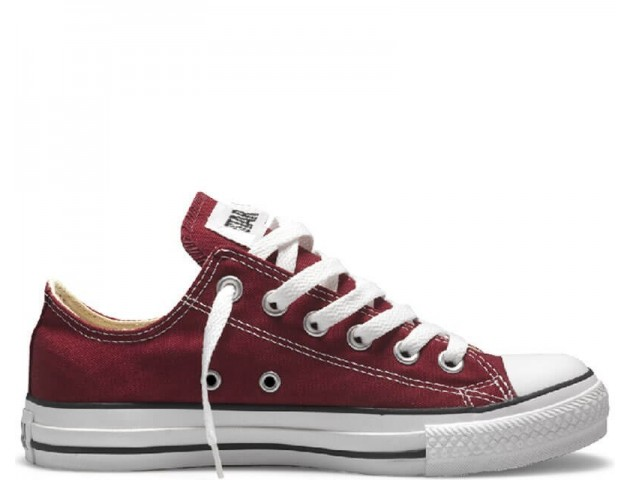 Кеды Converse All Star Chuck Taylor Low Bordo