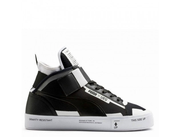 Кроссовки Puma x UEG Court Play Black /White