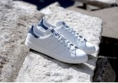Кроссовки Adidas Stan Smith White/Blue - Фото 4