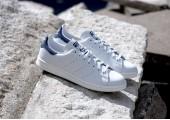 Кроссовки Adidas Stan Smith White/Blue - Фото 4