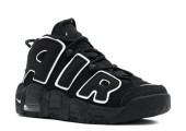 Кроссовки Nike Air More Uptempo Black/White - Фото 4