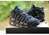 Кроссовки Nike Air More Uptempo Black/White - Фото 3