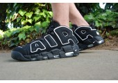 Кроссовки Nike Air More Uptempo Black/White - Фото 6
