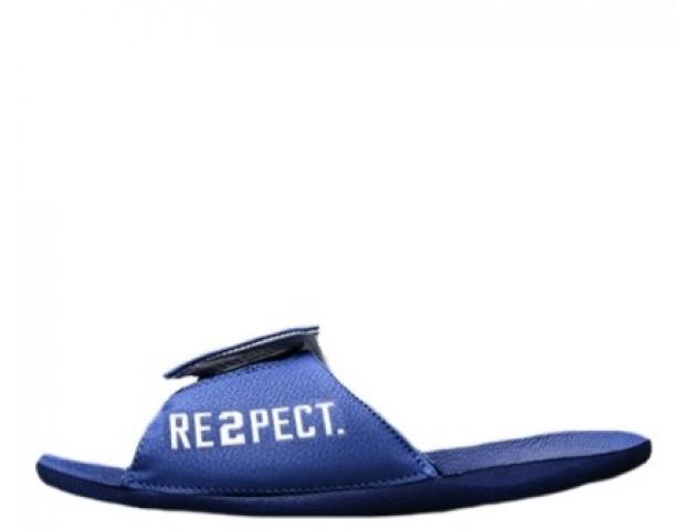 Шлепанцы Off White x Jordan Hydro 6 Blue