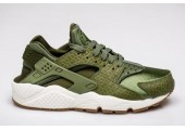 Кроссовки Nike Air Huarache Run Premium Palm Green/Legion Green-Sail - Фото 2
