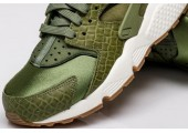 Кроссовки Nike Air Huarache Run Premium Palm Green/Legion Green-Sail - Фото 6