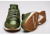 Кроссовки Nike Air Huarache Run Premium Palm Green/Legion Green-Sail - Фото 3